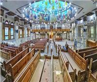 كنيسة مارجرجس أرض الجنينة تطرح فيديو للإجراءات الاحتزارية بعيد الرسل