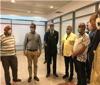 وزيرا الطيران والسياحة والآثار يتفقدان متحف مطار القاهرة الدولي