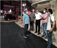 نائب محافظ الغربية: الانتهاء من إعادة رصف 8 شوارع بطنطا