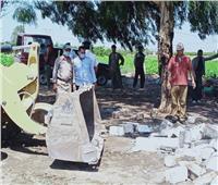 محافظ المنوفية: إزالة 38 حالة تعد على أراضي أملاك الدولة