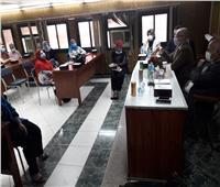 صحة الغربيه تستقبل أمين عام الزمالة المصرية لتطوير تدريب الأطباء
