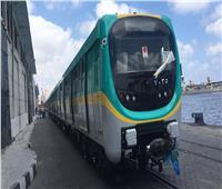 صور| بـ«تجهيزات مميزة».. وصول ثاني قطار مترو مكيف قادم من كوريا