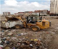رفع 50 ألف طن من تراكمات القمامة بايتاى البارود.. صور