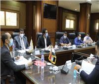 نائب محافظ سوهاج يترأس الاجتماع الخامس للجنة مراجعة تراخيص أعمال البناء