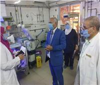 وكيل صحة الغربية يوجه بسرعة إنهاء مستشفى السنطة الجديد
