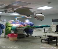 """فريق طبي ينقذ حياةمريضة كورونا بعد وفاة """"جنين"""" ببطنها في الدقهلية"""