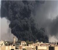 غلق كافة الطرق المؤدية لحريق خط بترول الإسماعيلية