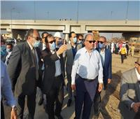 رئيس الوزراء يتابع عمليات إطفاء حريق خط الغاز بطريق الإسماعيلية الصحراوي