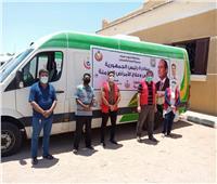 قوافل طبية مجانية لأصحاب الأمراض المزمنة بأبوزنيمة وشرم الشيخ