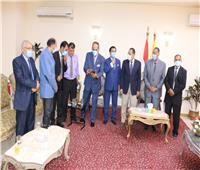 فريق من شمال سيناء ضمن دوري الميني فوتبول