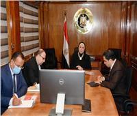وزيرة التجارة والصناعة تبحث مع أعضاء جمعية رجال أعمال الإسكندرية تعزيز التعاون المشترك