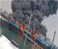 وكالة إيرنا: اندلاع حريق في ميناء بوشهر بجنوب إيران