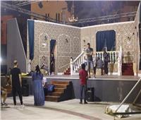 خالد جلال يتفقد اللمسات الأخيرة لافتتاح مسرح ساحة الهناجر