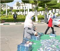 صور  انتهاء الأسبوع الأول من امتحانات الفصل الدراسي الثاني بكليات جامعة القاهرة