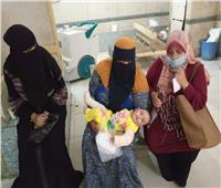 صرف مساعدة شهرية لرضيعة اعتدى عليها والدها بالضرب في كفر الشيخ