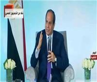 فيديو| الرئيس السيسي لمشايخ القبائل: سندخل ليبيا بطلب منكم
