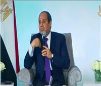 فيديو| السيسي: «ماعندناش استعداد لدخول ميليشيات وجماعات إرهابية لبلادنا»