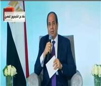 فيديو| الرئيس السيسي: لن نقبل تحول ليبيا إلي بؤرة للمليشيات والإرهابيين