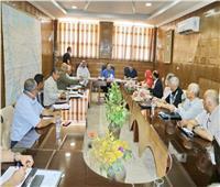 «شوشة» يبحث كيفية الاستفادة من مياه السيول لتنمية وسط سيناء
