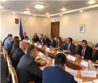 وزير السياحة والآثار يلتقي مع رئيس جمعية الصداقة البرلمانية المصرية الأوكرانية