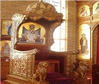 الكنيسة الأرثوذكسية تحتفل بعشية نياحة الأنبا غبريال السابع البابا الـ ٩٥ من باباوات الإسكندرية