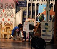 صور.. أولى ليالي العروض الحية لـ«بيت المسرح» بعد توقفها بسبب كورونا