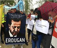 على هامش القمة.. وقفة احتجاجية في بروكسل تنديدا بالتدخل العسكري التركي في ليبيا