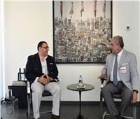 سفير مصر ببيروت يبحث مع الحريري والمشنوق وسفير السعودية تطورات الأوضاع في لبنان
