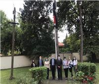 سفير مصر لدى صربيا يستقبل أعضاء مجلس إدارة معرض بلجراد الدولي