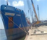 تفريغ 3437 طن رخام وتداول 30 سفينة فى موانئ بورسعيد