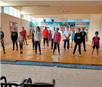 استئناف التدريبات بالمشروع القومي للموهبة والبطل الأوليمبي
