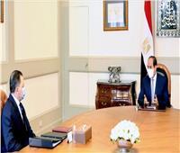 فيديو  الرئيس السيسي يبحث مع وزير الداخلية الأوضاع الأمنية وجهود مكافحة الإرهاب