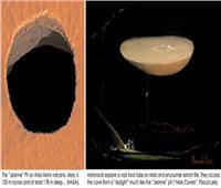 علماء يؤكدون وجود حضارة ذكية تعيش في أنفاق داخل كوكب المريخ