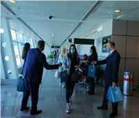 مطار الغردقة يستقبل أول رحلة طيران من صربيا وعلى متنها 180 راكبا