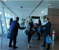 بالصور| مطار الغردقة يستقبل فوجا سياحيا قادما من بلجراد