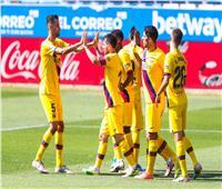 فيديو| برشلونة يكتسح ألافيس بـ«خماسية» في ختام الليجا