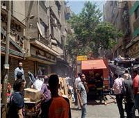 """صور  الدفع بـ3 عربيات مطافئ وعربتان إسعاف للسيطرة على """"حريق التوفيفية"""""""