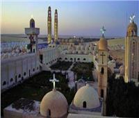 نائب «الأعلى للآثار» يزور ملوي للاطلاع على الجزء المنهار من جدار كنيسة دير «أبوفانا»