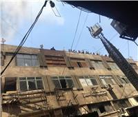 محافظة القاهرة يعلن السيطرة على حريق سوق التوفيقية دون إصابات