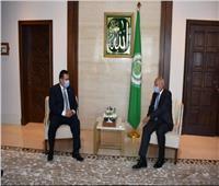 أبو الغيط يستقبل رئيس وزراء اليمن