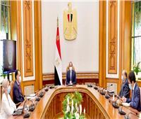 الرئيس السيسي يطلع على الموقف التنفيذي لمنظومة المخلفات الصلبة الجديدة