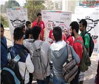 صور| جامعة الأزهر تشارك في مسابقة رالي مصر لريادة الأعمال