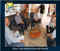 محافظ جنوب سيناء يشيد بجهود «العربية للتنمية الزراعية» في سانت كاترين