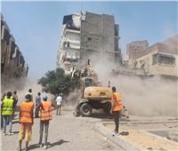 نائبة محافظ القاهرة تتابع أعمال إزالة العقارات بالسيدة زينب