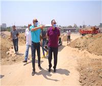 «الخطيب» يطمئن على أعمال تطوير منشآت فرع مدينة نصر