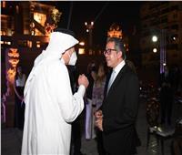 السفير السعودي في مصر يلبي دعوة وزير السياحة لزيارة قصر البارون