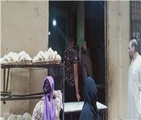 رئيس مدينة الخصوص بالقليوبية يحرر 12 مخالفة تموينية أثناء حملة على المخابز