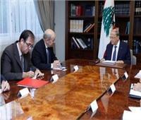 وزير الخارجية الفرنسي يبدأ زيارة للبنان.. ويلتقي ميشال عون
