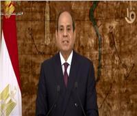 فيديو| الرئيس السيسي: مصر قادرة على اتخاذ إجراءات لحماية حقوقها التاريخية