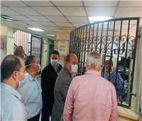 نائب محافظ الجيزة يتفقد مستشفى مبارك المركزي وأوسيم